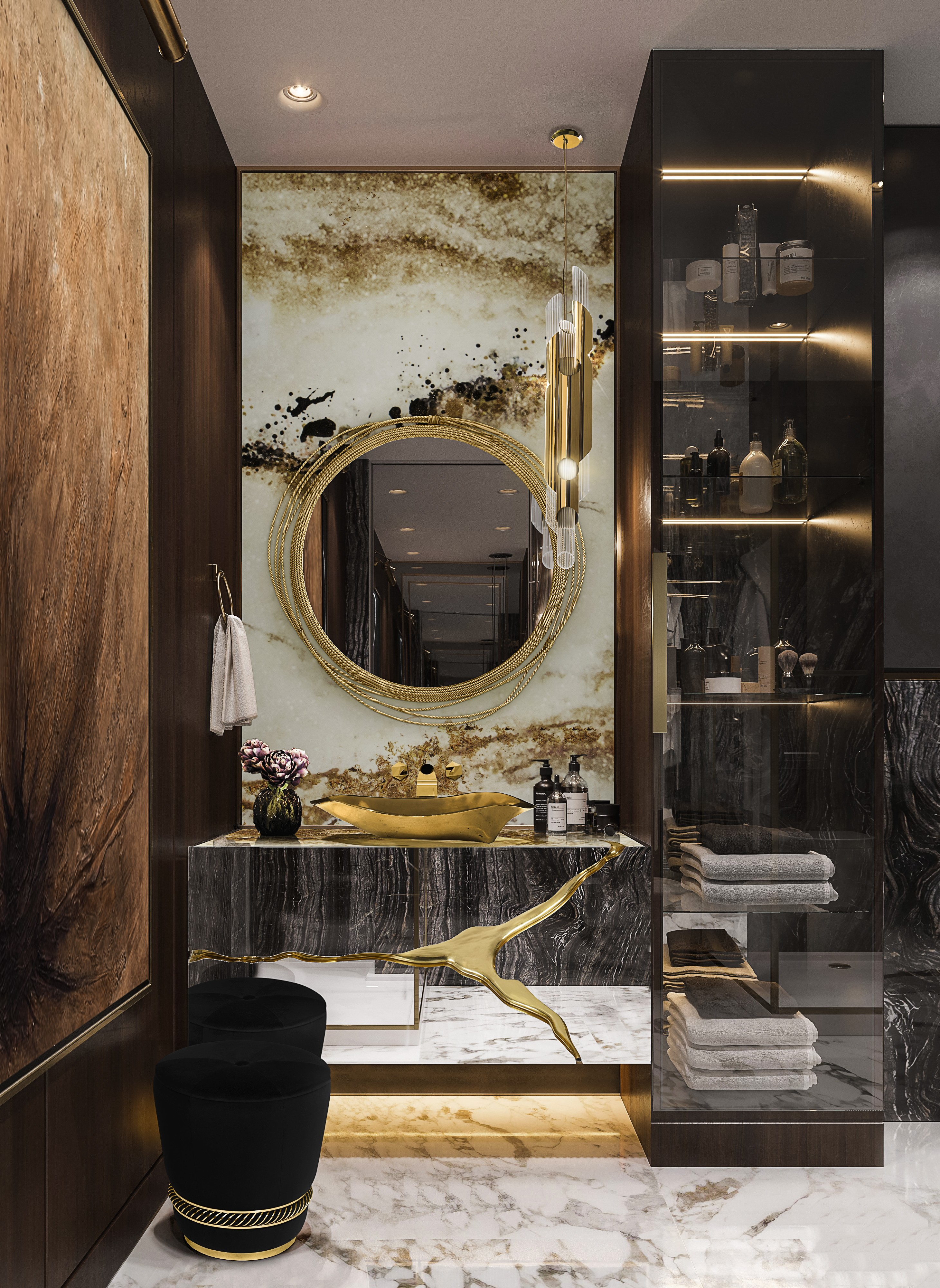 Iconic Mirrors To Engage With Luxury Interiors