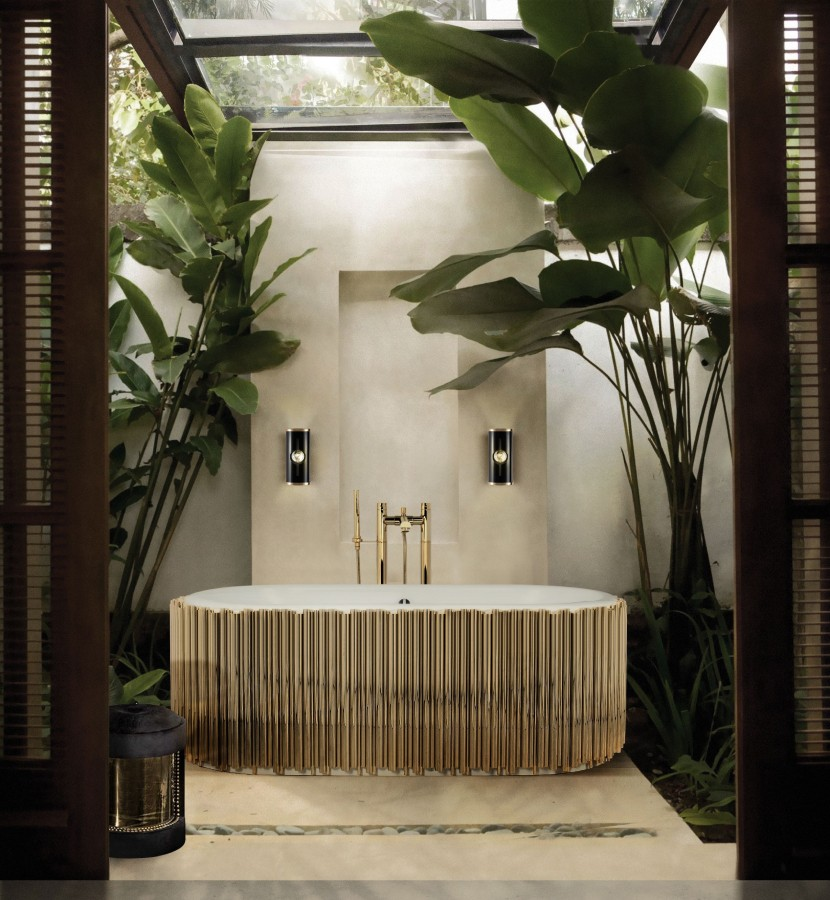 Bathroom Inspirations To Get The Perfect Home Oasis Bathroom Inspirations Bathroom Inspirations To Get The Perfect Home Oasis nature inspired and luxurious bath space with symphony bathtub