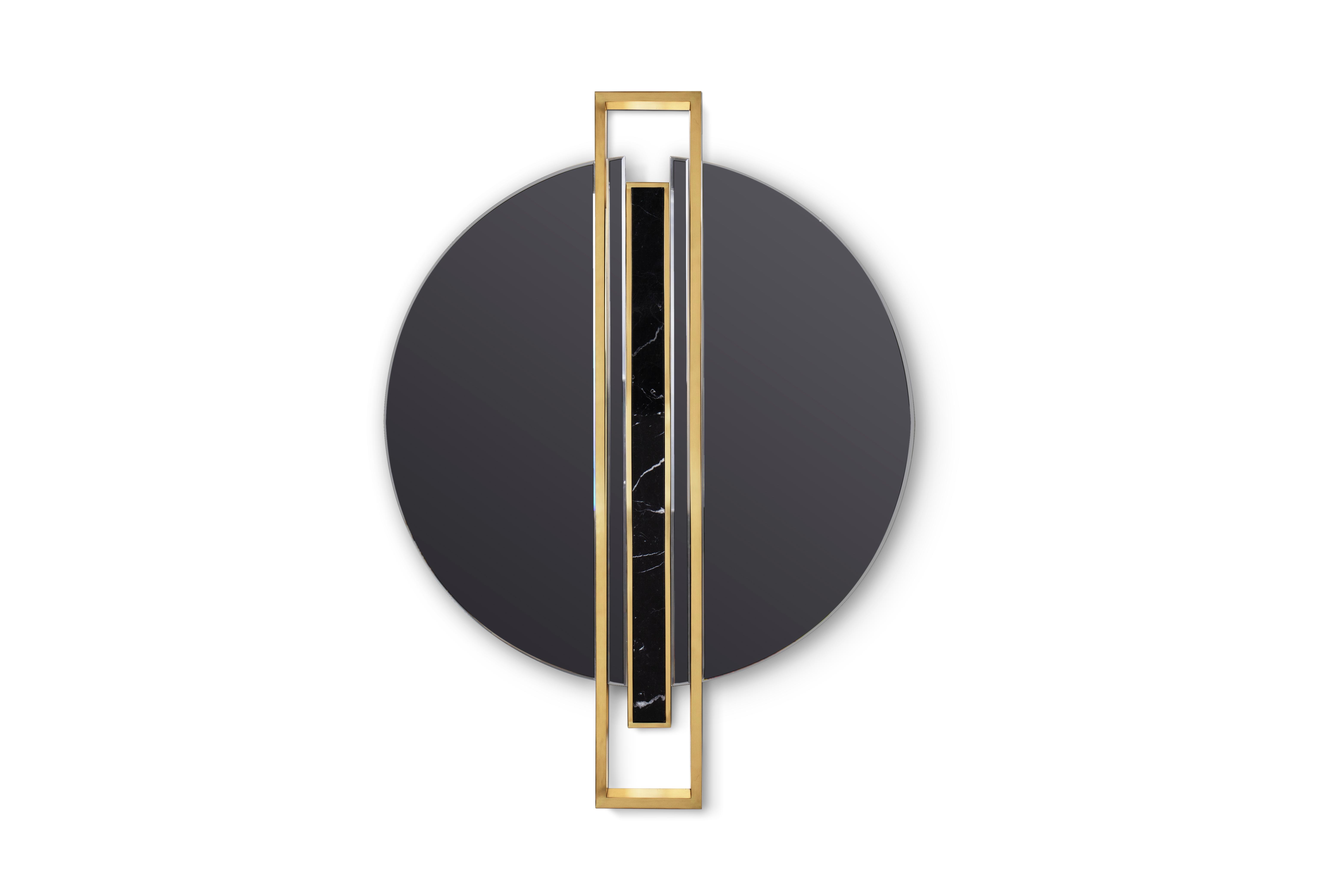 Shield Mirror by Maison Valentina