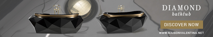 Maison Valentina Diamond Bathtub modern bathroom design 5 Modern Bathroom Designs To Elevate You Home Decor To The Max Diamond Bathtub Maison Valentina