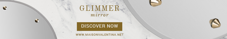 Maison Valentina Glimmer Mirror luxury top brands Luxury Top Brands Unveil Their Trendiest New Accessories Glimmer Mirror Maison Valentina