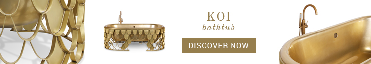Maison Valentina Koi Bathtub luxury bathroom trends Luxury Bathroom Trends: Prepare For Summer Decor! Koi Bathtub Maison Valentina