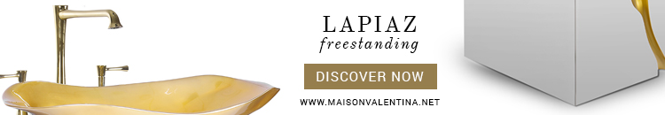 Maison Valentina Lapiaz Freestanding luxury bathware Maison Valentina Presents New Luxury Bathware Lapiaz Freestanding Maison Valentina
