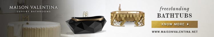 Maison Valentina freestanding bathtubs bathroom trends report Bathroom Trends Report – Neutrals Are The New Black and Gold maison valentina luxury bathrooms
