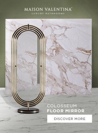 Side Banner - Colosseum Floor Mirror