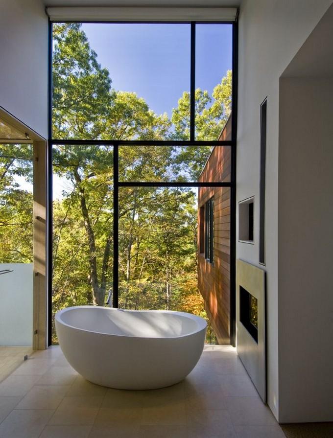 15 Luxury Bathrooms with fireplace luxury bathrooms 15 Luxury Bathrooms with Fireplaces 495046fe4746d813bdd2257410de03d7