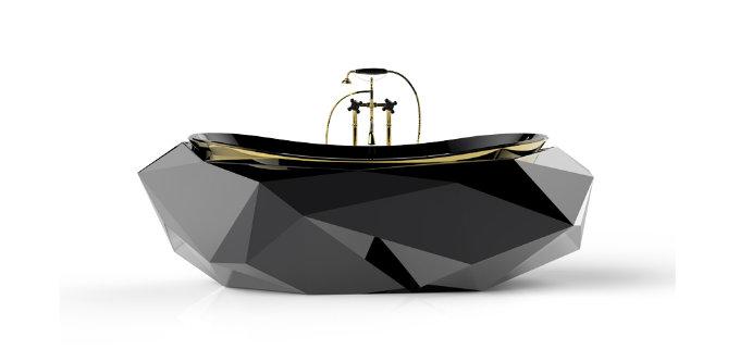 luxury bathrooms maison valentina diamond  luxury bathrooms 5 Ideas to a luxury bathrooms 5 Ideas to a glamorous bathroom Maison Valentina