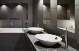 Black Bathroom Vanity0