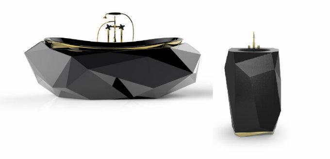 Black Bathroom Vanity_She Builds It Black Bathroom The Most Inspiring Black Bathroom Vanities Black Bathroom Vanity Maison Valentina