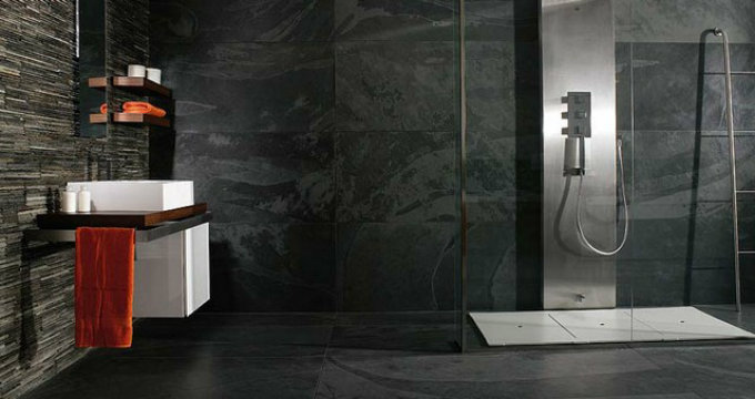 Ideas for a modern vanity bathroom maison valentina blog - Lavabos de piedra natural ...
