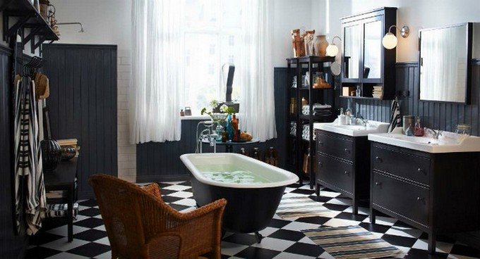 Black Bathroom Design Ideas To Be Inspired