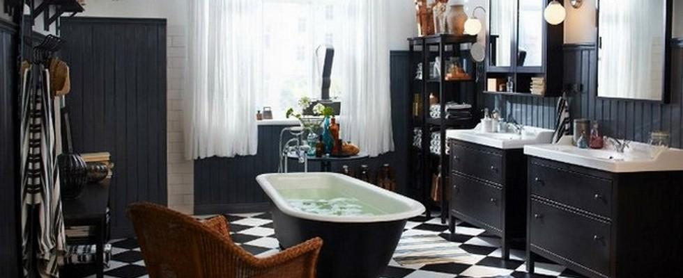 black bathroom Black Bathroom Design Ideas To Be Inspired Koi Batht HR1