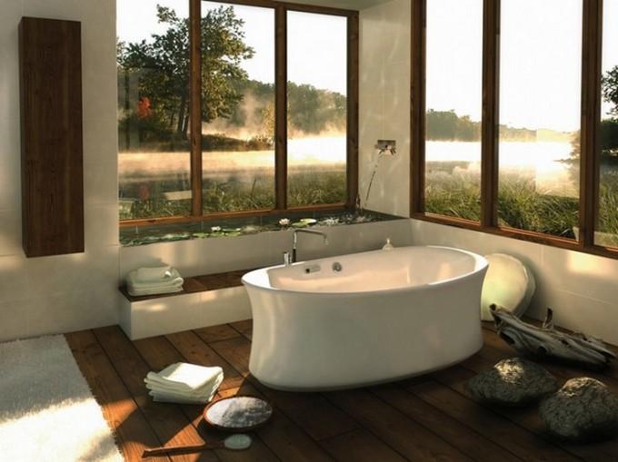 10 Nature Inspired Bathroom Designs Natural ArchitectureArtDesigns 7