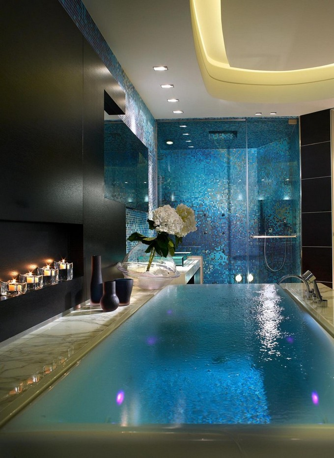 Maison Valentina Blog has collected 8 millionaire bathrooms to inspire you.  Top 8 Millionaire Bathrooms in the World Top millionaire bathroom miami beach miami fisher island residence by pepecalderindesign interior designer modern 13106 1900
