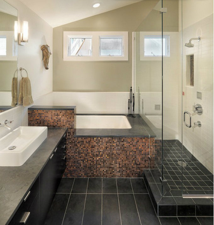 10 Tips for small Bathrooms small bathroom 10 Tips for a Chic Small Bathroom chic bathroom