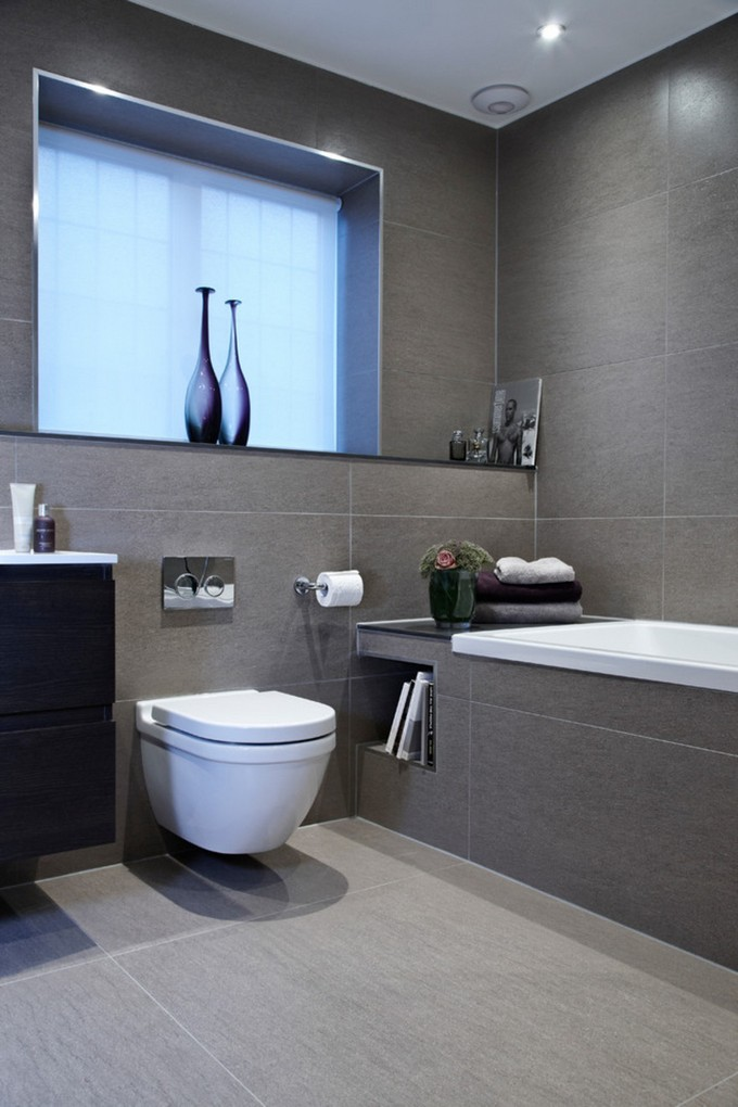10 Tips for small Bathrooms small bathroom 10 Tips for a Chic Small Bathroom grey color to a chic bathroom
