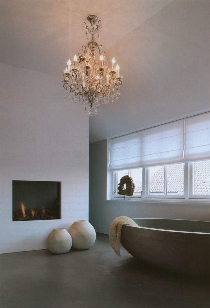 15 Bathrooms with fireplace luxury bathrooms 15 Luxury Bathrooms with Fireplaces project 110