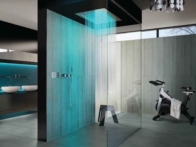 Room DesignShower  shower room Shower Room Design 1 Shower LEDs