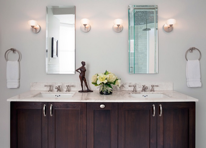Bathroom Countertops 101: The Top Surface Materials  bathroom countertops Bathroom Countertops 101: The Top Surface Materials marble