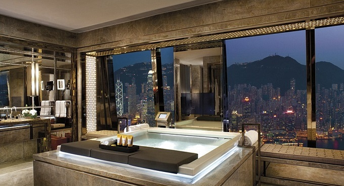 THE MOST INCREDIBLE HOTEL´S BATHROOMS AROUND THE WORLD2  THE MOST INCREDIBLE HOTEL's BATHROOMS AROUND THE WORLD hong