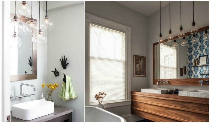 3 Clean Bathroom With The Right Suspension Light