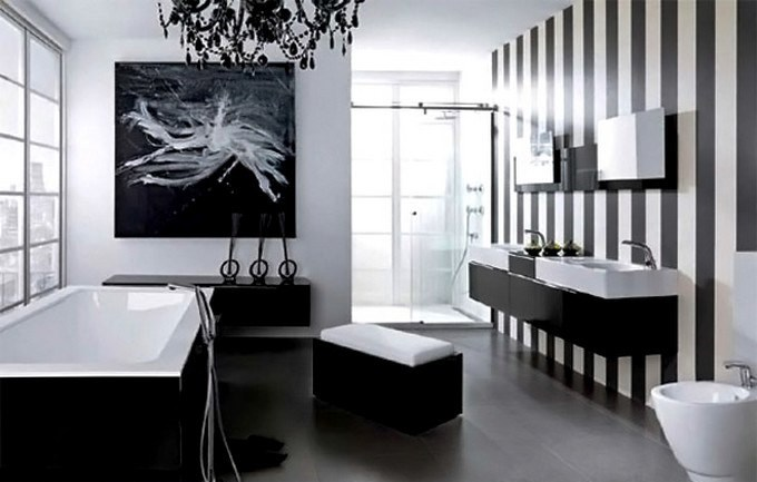 3-Noken  MODERN BLACK AND WHITE BATHROOM 3 Noken