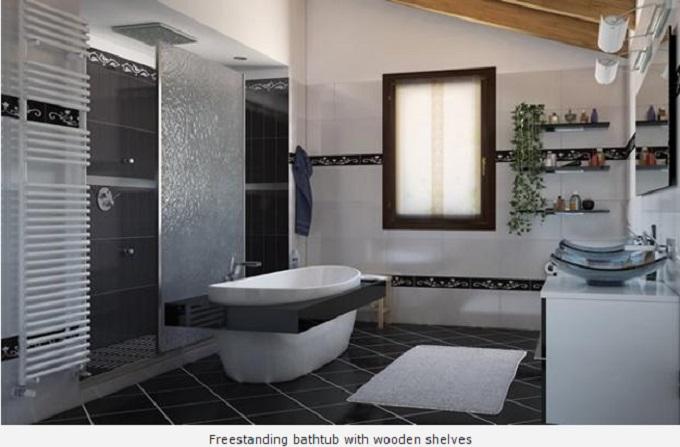3 Luxury Bathrooms: Freestanding Bathtubs Define Luxurious Trends To Modern  Bathrooms 31 E1438256086795