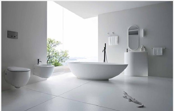 5  Luxury Bathrooms: Freestanding bathtubs define luxurious trends to modern bathrooms  5 e1438256781543