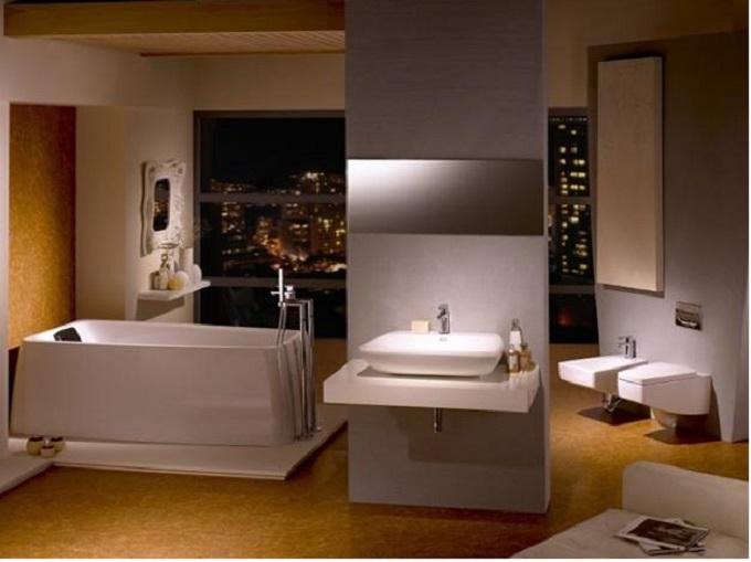 6  Luxury Bathrooms: Freestanding bathtubs define luxurious trends to modern bathrooms  6