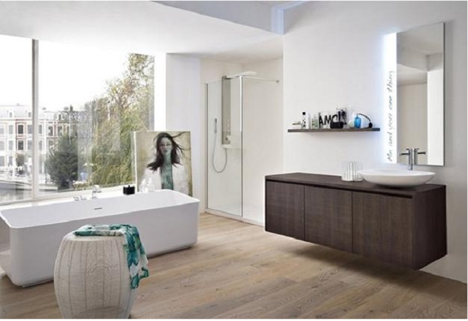 7  Luxury Bathrooms: Freestanding bathtubs define luxurious trends to modern bathrooms  7