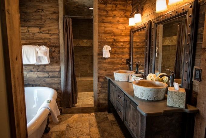 Beautiful Wooden Bathroom  bathroom designs BEAUTIFUL WOODEN BATHROOM DESIGNS Beautiful Wooden Bathroom designs10
