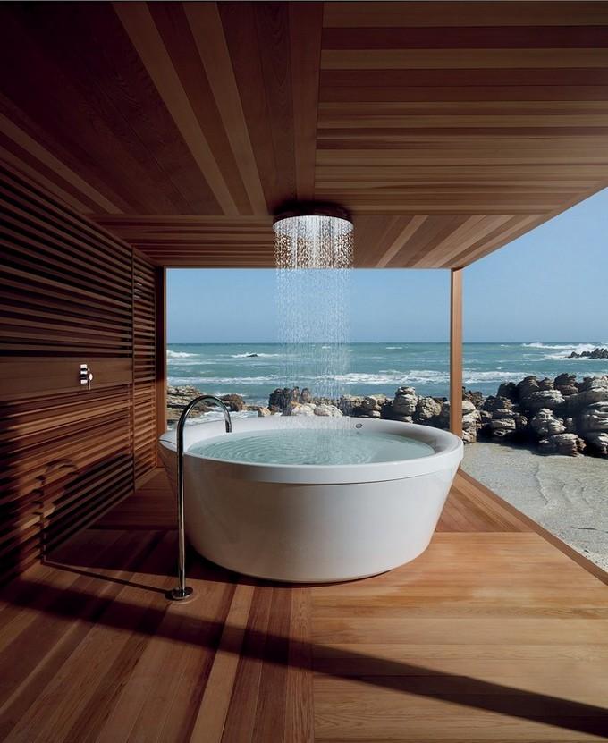 Beautiful Wooden Bathroom  bathroom designs BEAUTIFUL WOODEN BATHROOM DESIGNS Beautiful Wooden Bathroom designs2