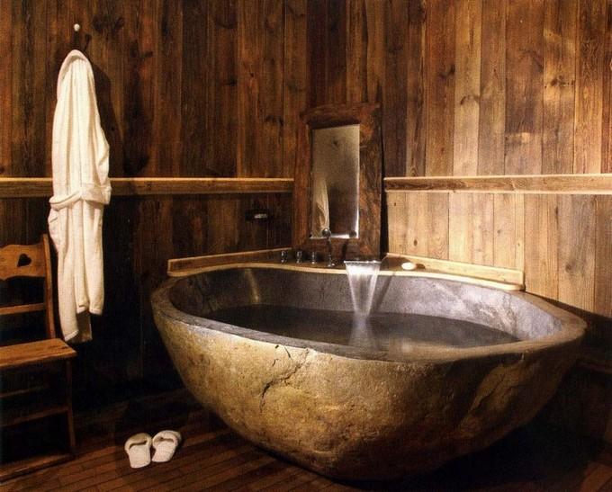 Beautiful wooden bathroom designs for Beautiful bathroom designs