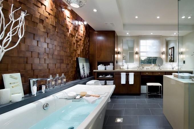 Beautiful Wooden Bathroom  bathroom designs BEAUTIFUL WOODEN BATHROOM DESIGNS Beautiful Wooden Bathroom designs5