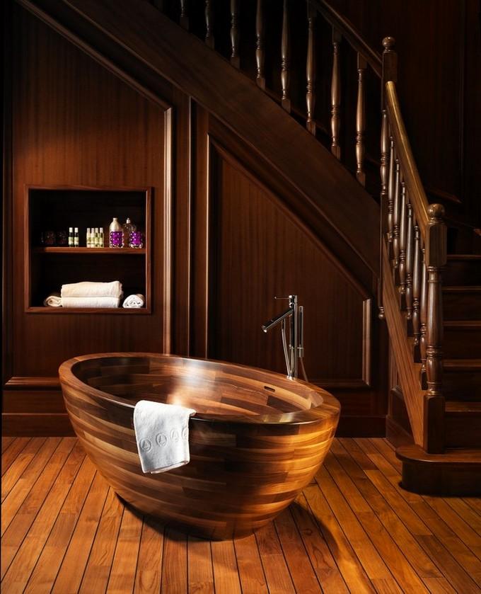 Beautiful Wooden Bathroom  bathroom designs BEAUTIFUL WOODEN BATHROOM DESIGNS Beautiful Wooden Bathroom designs9