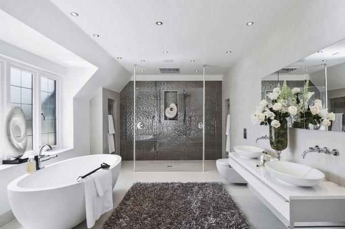 Contemporary bathroom oval bathtubs Improve Your Bathroom With These Oval Bathtubs Improve your bathroom with this Oval bathtubs3