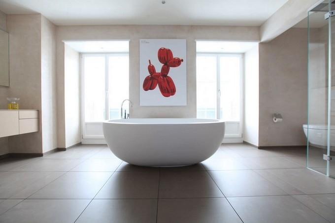 Contemporary bathroom oval bathtubs Improve Your Bathroom With These Oval Bathtubs Improve your bathroom with this Oval bathtubs4