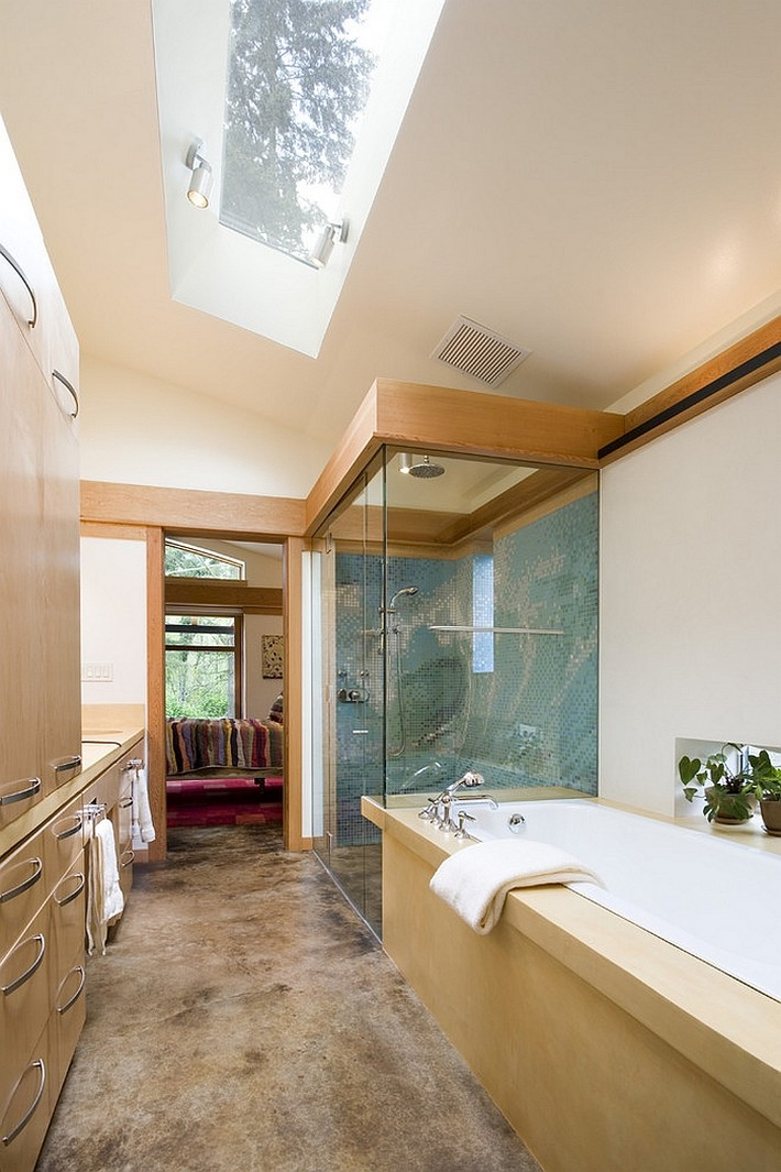 Luxury Bathrooms With Gorgeous Skylights Maison