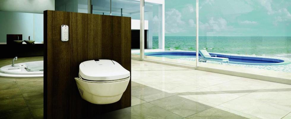 High tech bathroom features for Bathroom 94 percent