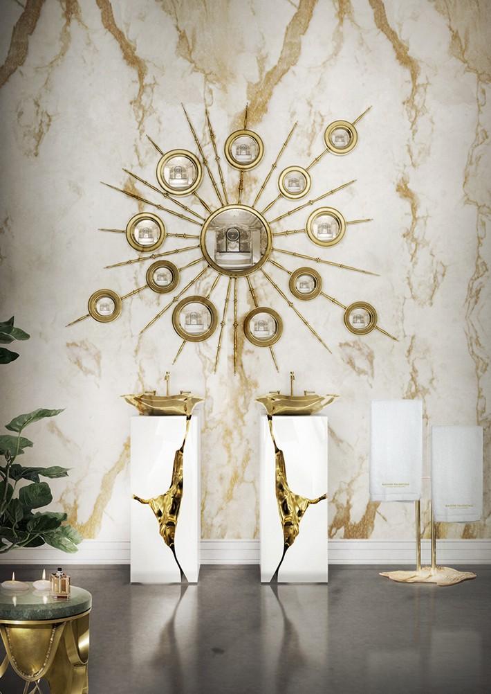 unique art ideas for luxury bathrooms