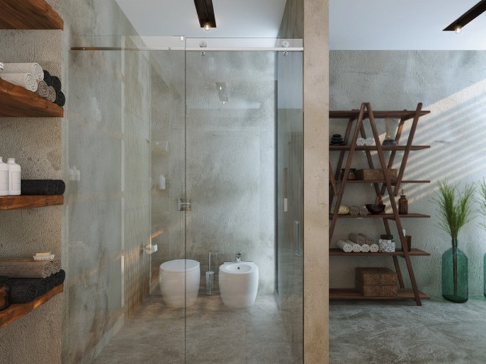 beautiful-towel-rack Luxury Bathrooms 5 Luxury Bathrooms In High Detail beautiful towel rack