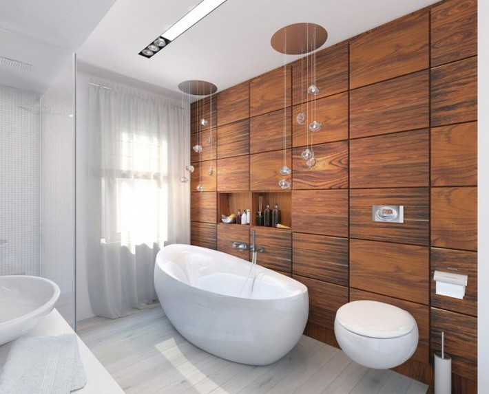 cherry-wood-bathroom- Luxury Bathrooms 5 Luxury Bathrooms In High Detail cherry wood bathroom