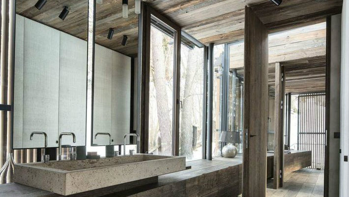 Rustic modern bathroom design ideas maison valentina blog for Contemporary bathrooms 2015
