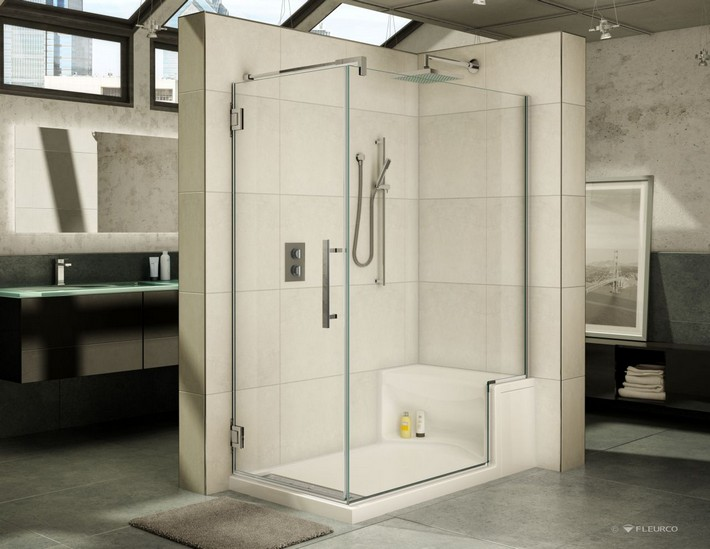Shower Seating Design Ideas For Luxury