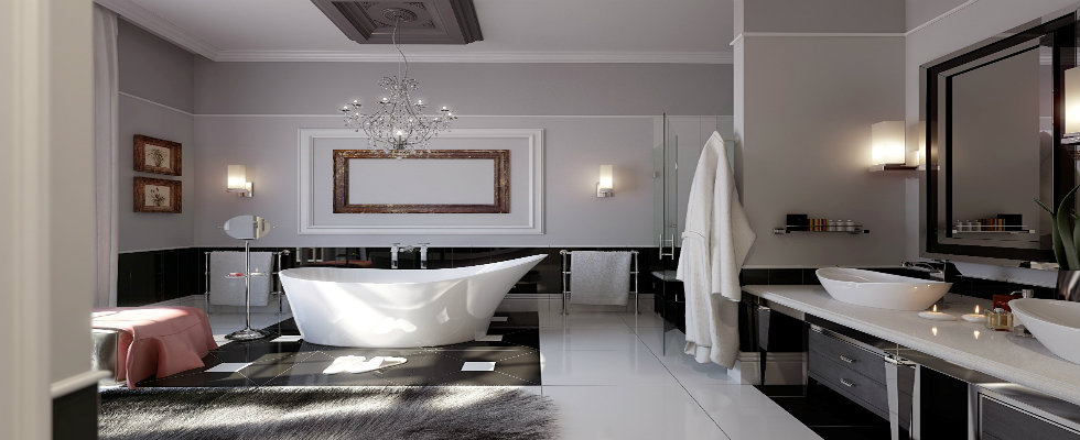 After All What Makes A Luxury Bathroom Maison
