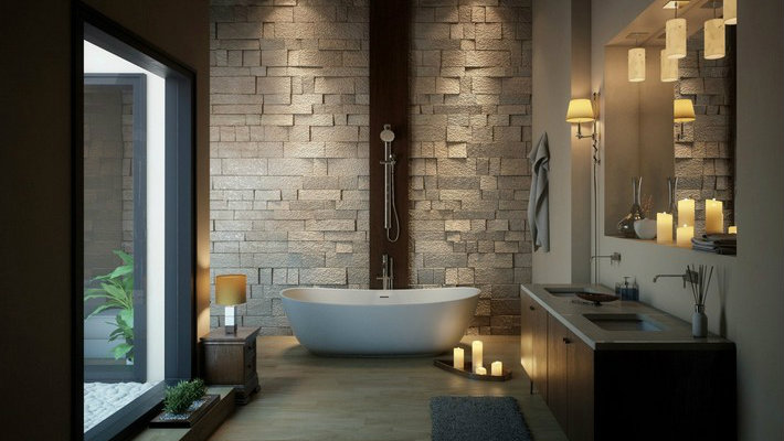 Incredible Bathtub Ideas With Luxurious Eal