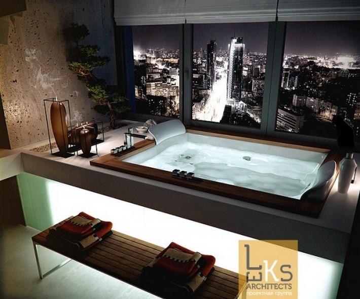 modern bathrooms maison valentina  modern bathrooms Sunlight Gorgeous and Modern Bathrooms Bath with a View