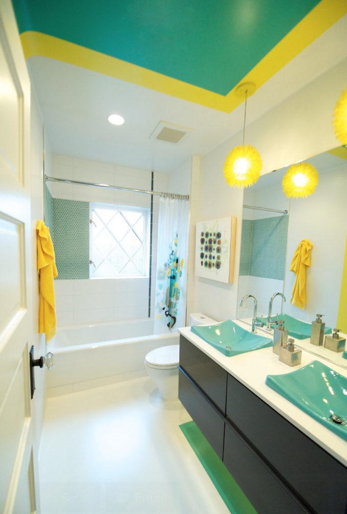 Colorful Kids Bathroom Ideas | Maison Valentina Blog on Fun Bathroom Ideas  id=96225
