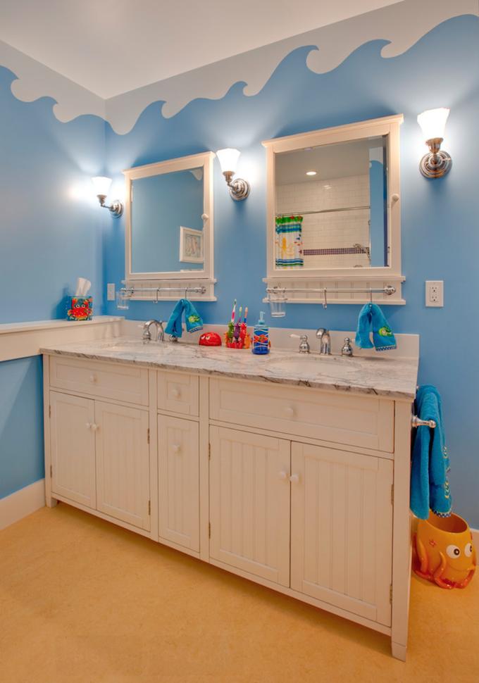 Colorful Kids Bathroom Ideas | Maison Valentina Blog