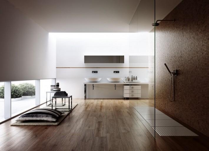 Minimalist-bathroom-700x505  Luxury Bathrooms with Spa's Touch Minimalist bathroom 700x505
